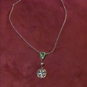 Starfish silvertone necklace